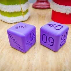 Download free 3D printer files Crossfit Dice, FedorSosnin