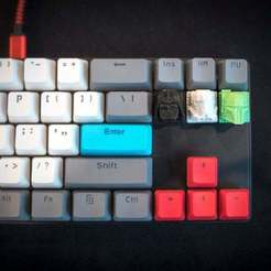 2098256420f68717e21f33fb676f2e60_display_large.JPG Download free STL file Star Wars MX Cherry Keycaps • 3D printing object, FedorSosnin