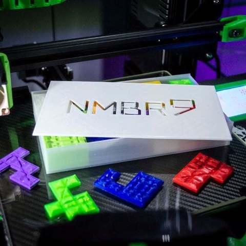 Télécharger modèle 3D gratuit NMBR 9 (Numéro 9) Boîte de jeu de voyage, FedorSosnin