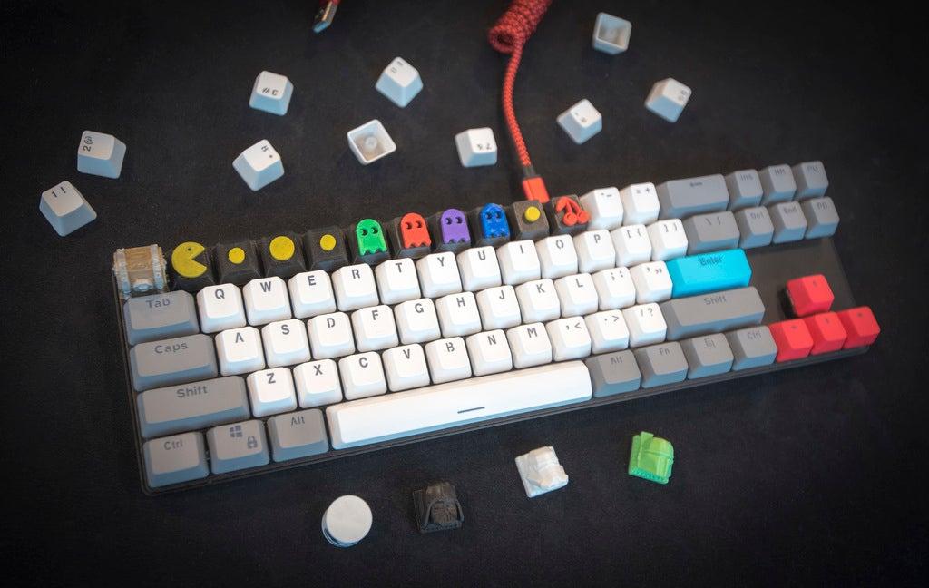 be76849096671e27517216b97044efcb_display_large.JPG Télécharger fichier STL gratuit Pac-Man Cherry MX Keycaps • Objet à imprimer en 3D, FedorSosnin