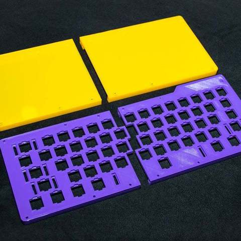 8a3a1a5e49a079b6bebfb34ce07f05f5_display_large.JPG Download free STL file Mechanical Keyboard - SiCK-60 (60%) • Model to 3D print, FedorSosnin