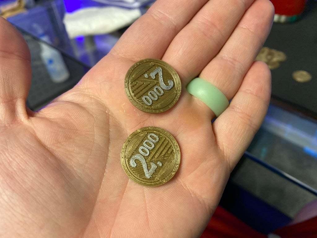 """IMG_8797.jpeg Télécharger fichier STL gratuit Pièces de monnaie pour le jeu de société """"À vendre • Design imprimable en 3D, FedorSosnin"""