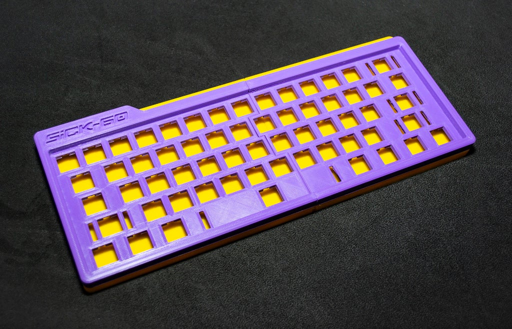 5d94f9a1637cb2b21bf0b9dd0cb4bf62_display_large.JPG Download free STL file Mechanical Keyboard - SiCK-60 (60%) • Model to 3D print, FedorSosnin