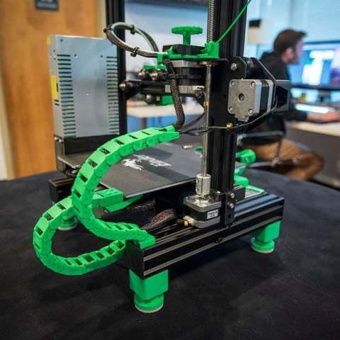 """9117922feb448fd72d232934ba596d32_display_large.JPG Download free STL file Ender 3 Adjustable Feet (2"""") • Design to 3D print, FedorSosnin"""