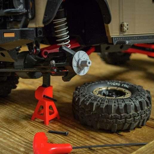 Télécharger fichier STL gratuit 3DSets Entretoise de roue et rotor • Plan à imprimer en 3D, FedorSosnin