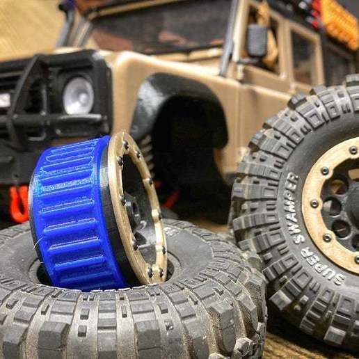 IMG_9149.jpg Télécharger fichier STL gratuit 3DSets Rancher Beadlock Tire Lock Ring (2 options) • Plan imprimable en 3D, FedorSosnin