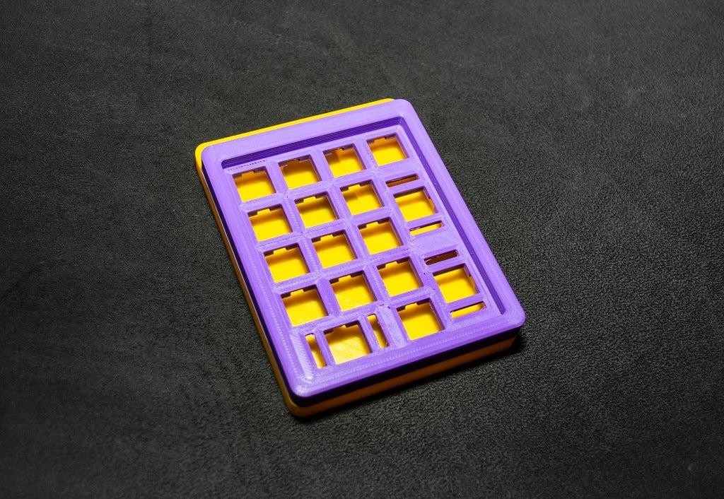 24241e931031bacdfe6cc322c1f447d3_display_large.JPG Télécharger fichier STL gratuit Clavier mécanique - SiCK-PAD • Objet imprimable en 3D, FedorSosnin