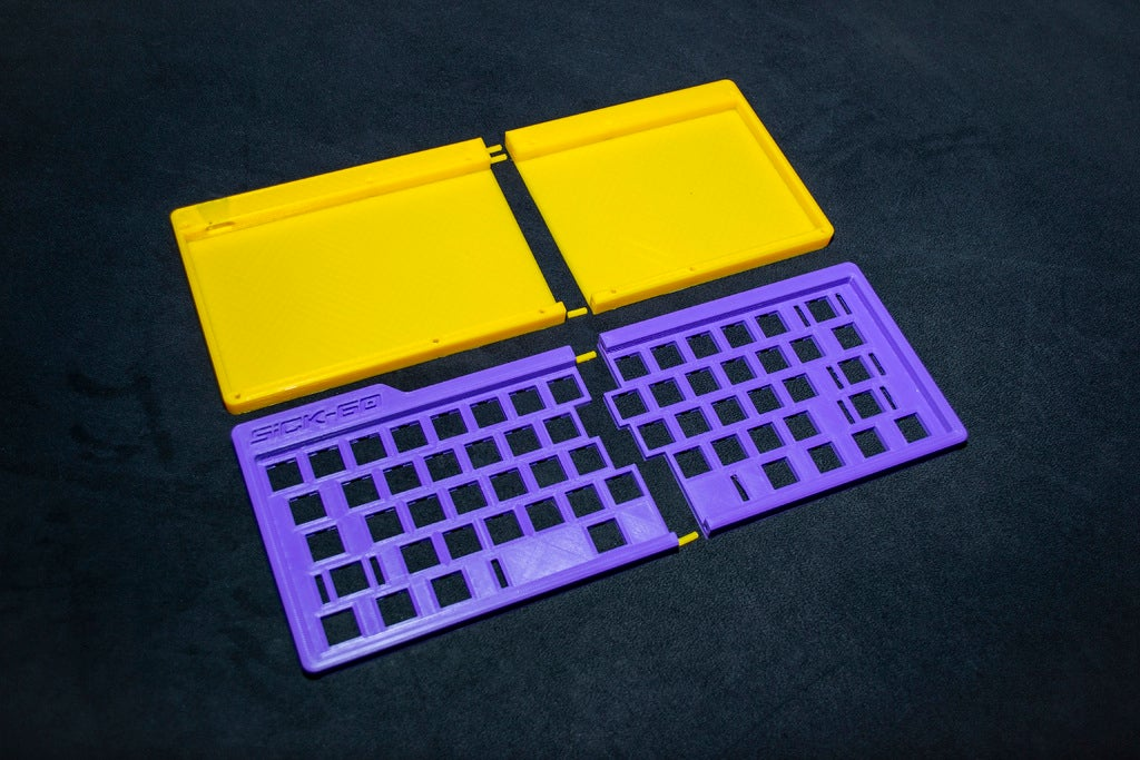 47eb5e9e66e7b104ea186ca36d797bc8_display_large.JPG Download free STL file Mechanical Keyboard - SiCK-60 (60%) • Model to 3D print, FedorSosnin