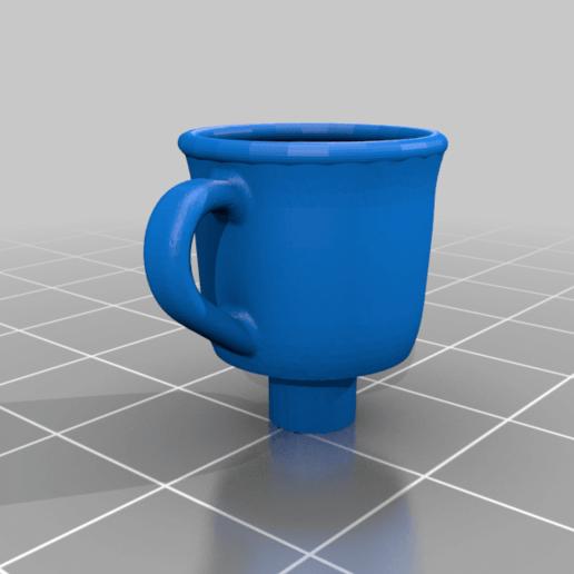 Coffee_Cup_Keycap.png Télécharger fichier STL gratuit Porte-clés pour tasse de café - MX Cherry • Plan pour imprimante 3D, FedorSosnin