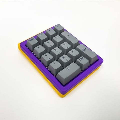 Download free STL file Mechanical Keyboard - SiCK-PAD • 3D printable model, FedorSosnin