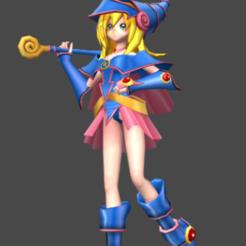 aaaaas.png Download OBJ file Dark Magician Girl • 3D printer model, fernandohcampiteli
