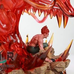 Descargar modelos 3D gratis Naruto maito gai, fernandohcampiteli