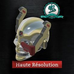 Download 3D printing files Krane E_Skull, Kustom_Skool