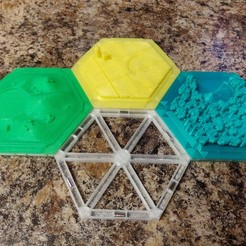 IMG_20181127_142106.jpg Download free STL file Catan Magnet Base 6x3 mm cylindrical magnets • 3D printing model, Nacelle