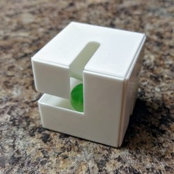 IMG_20190119_183509.jpg Download free STL file Marble Maze Fidget Cube • 3D printer design, Nacelle