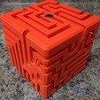 Télécharger plan imprimante 3D gatuit Labyrinthe en cube, Nacelle