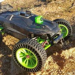 Free 3D printer designs Runcam Nano Mount for Traxxas VXL E-Revo, lmbcruz
