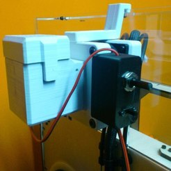 Download free 3D printer designs Electronics Box for Exhaust System 80mm Replicator, lmbcruz