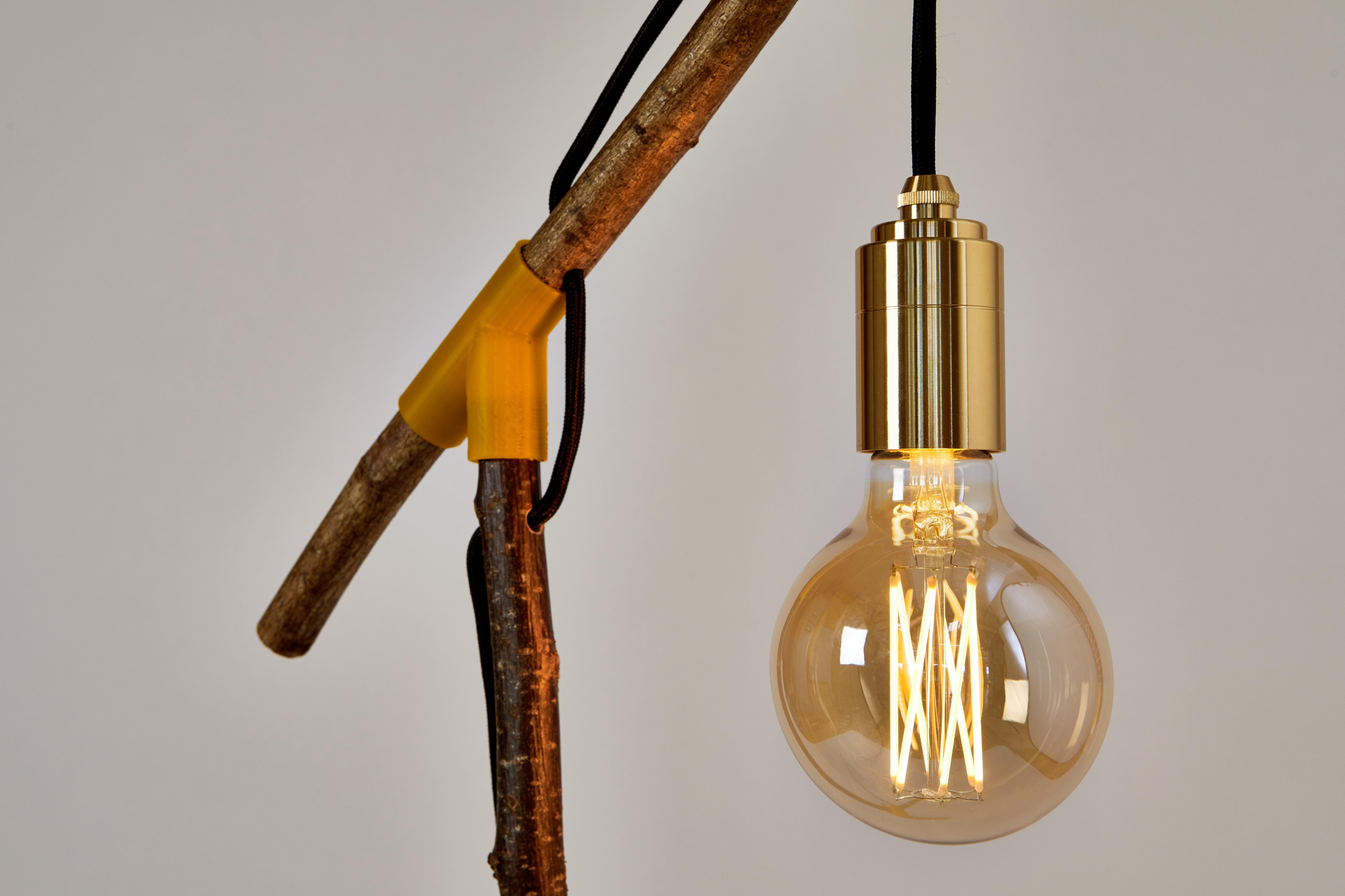 3D Printed Lamp 2_detail.jpg Download free STL file Design Light_00 - MISSION TO MAKE  • Design to 3D print, DistributedDesign