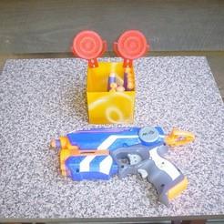 Download free 3D print files Nerf Target, Ristrorg