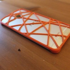 Free 3D printer designs htc one phone case, Ristrorg