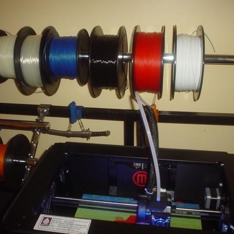 Télécharger plan imprimante 3D gatuit clip de guidage de fillament, Ristrorg