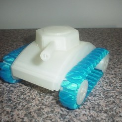 Download free 3D printing files stretchlet tank, Ristrorg