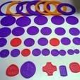 Télécharger fichier STL gratuit Spirographe 41 pièces, Ristrorg