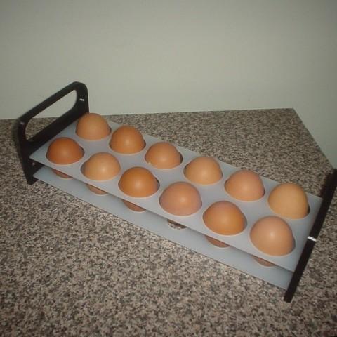 Descargar archivos 3D gratis bandeja de huevos 4 la señora, Ristrorg