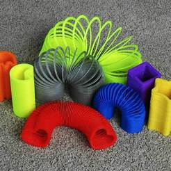 Download free 3D printing models Slinkies, Ristrorg