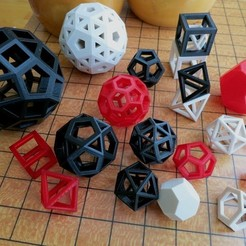 Download free 3D printer designs Customizable Convex Polyhedra, Ristrorg