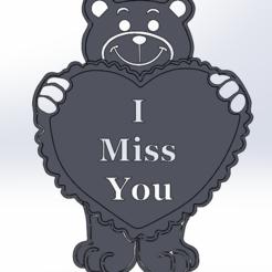 Télécharger fichier 3D gratuit Les Valentins aiment l'ours, Saeid