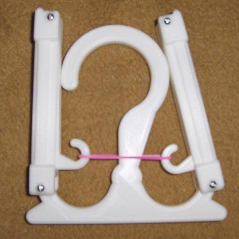 HPIM2302.JPG Download free STL file Travel Hanger T. up 10 kg • 3D print design, Saeid