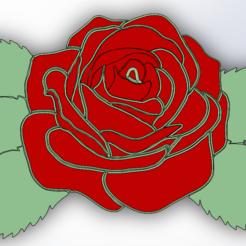 Rose.PNG Télécharger fichier STL gratuit Rose • Plan pour imprimante 3D, Saeid