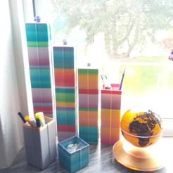 Télécharger plan imprimante 3D gatuit Boîte de rangement Avec couvercle, Saeid