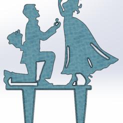 Télécharger objet 3D gratuit Proposition de mariage, Saeid