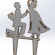 Download free 3D printing files Marriage proposal, Saeid