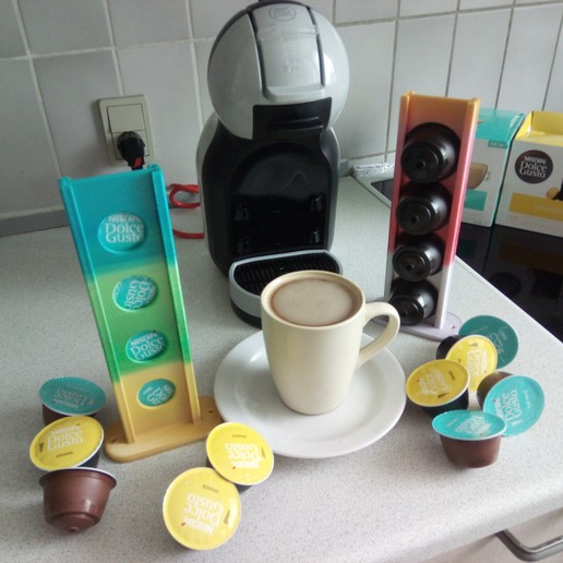 Download free 3D model Coffee Capsules Holder, Saeid