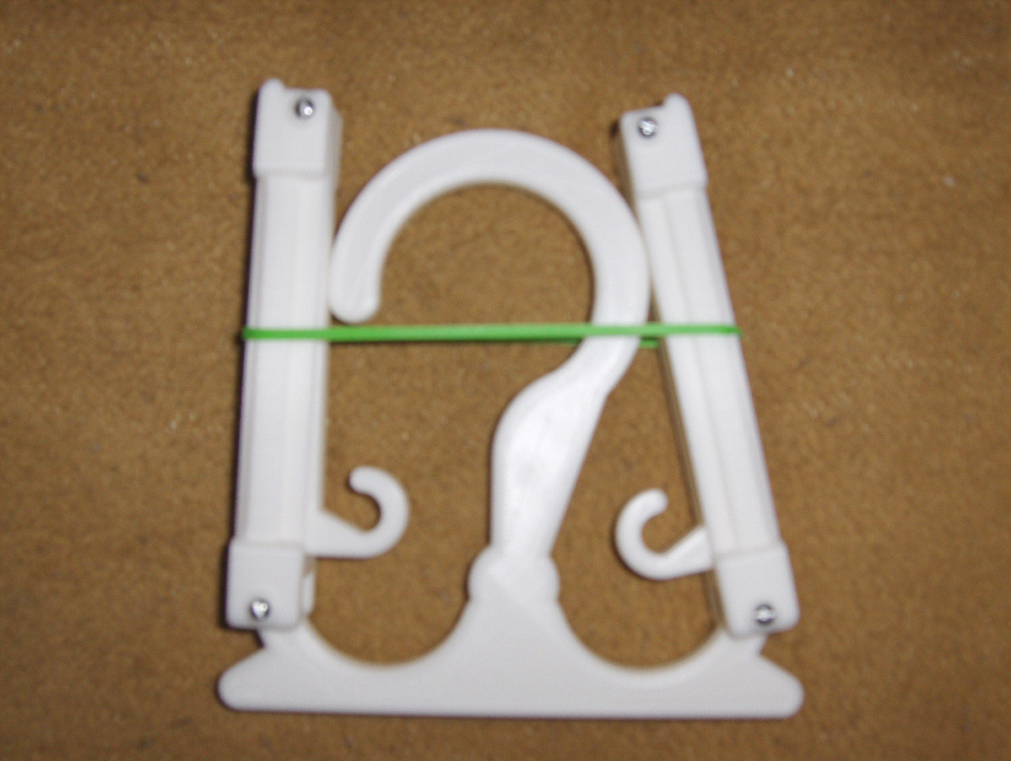 HPIM2298.JPG Download free STL file Travel Hanger T. up 10 kg • 3D print design, Saeid