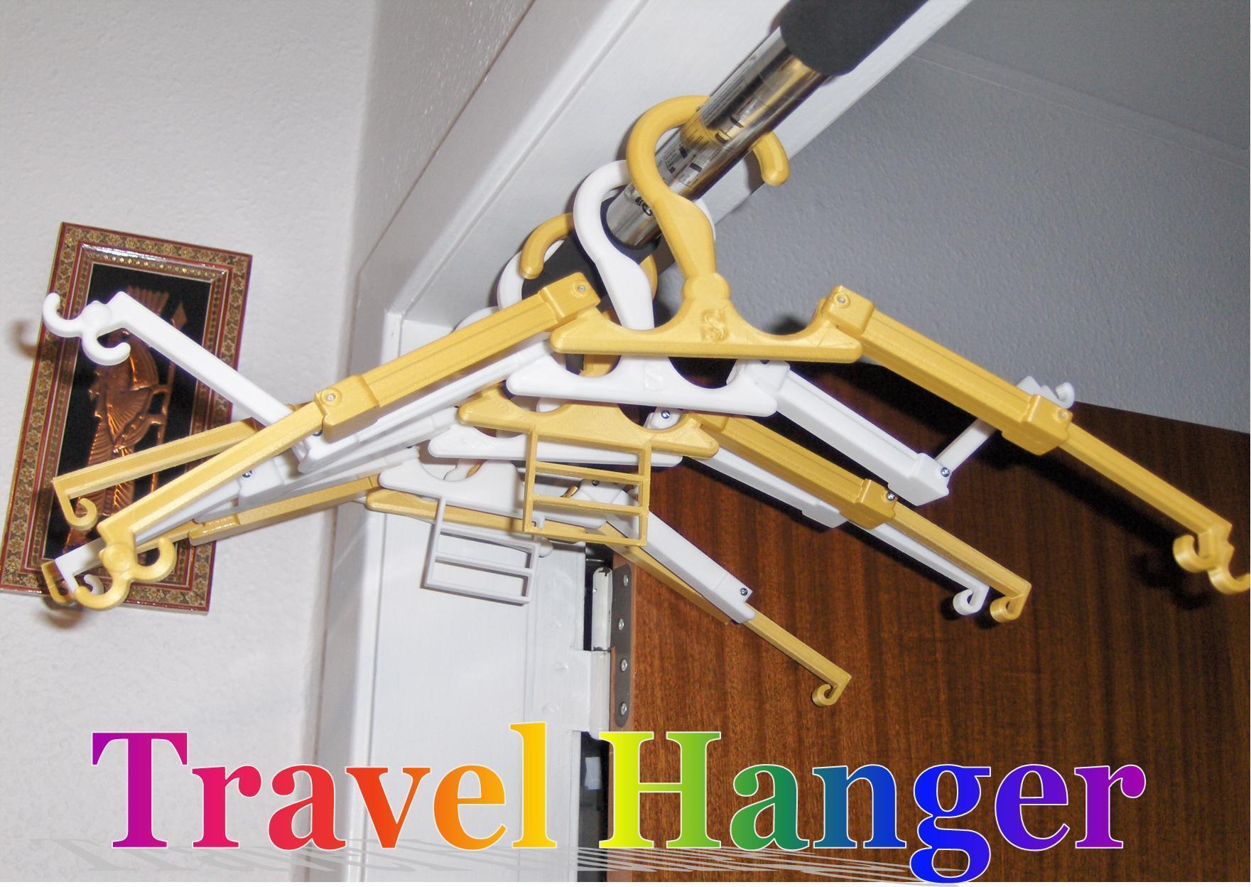 Billede5.jpg Download free STL file Travel Hanger T. up 10 kg • 3D print design, Saeid