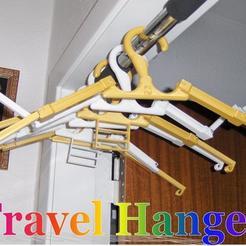 Free STL file Travel Hanger T. up 10 kg, Saeid