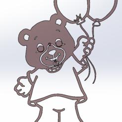 Download free 3D printing models Baby Bear, Saeid