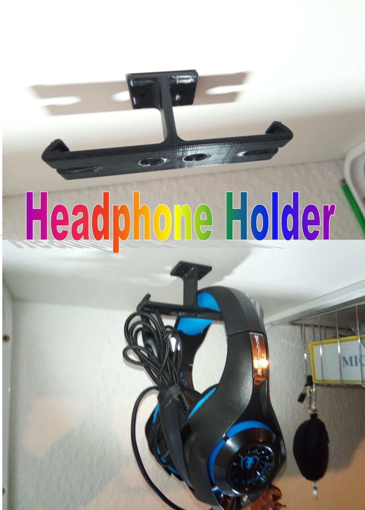 Billede1.jpg Télécharger fichier STL gratuit Support pour casque d'écoute • Objet pour impression 3D, Saeid