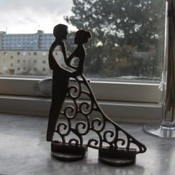 Impresiones 3D gratis La novia y el novio, Saeid