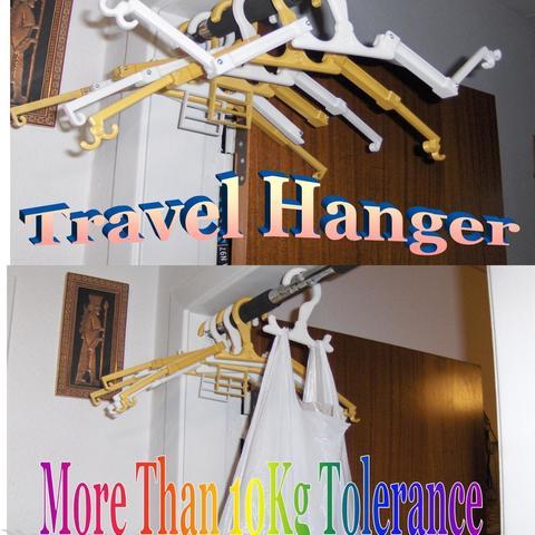 Billede1.jpg Download free STL file Travel Hanger T. up 10 kg • 3D print design, Saeid
