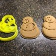 Free 3D printer files Snowman Cookie Cutter, fasteddy