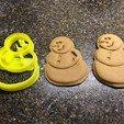 Descargar archivos STL gratis Cortador de la galleta del muñeco de nieve, fasteddy