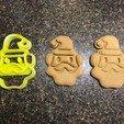 Objet 3D gratuit Santa Clause Cookie Cutter, fasteddy