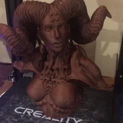 Fichier imprimante 3D gratuit Femelle cornu, canadianrockies96
