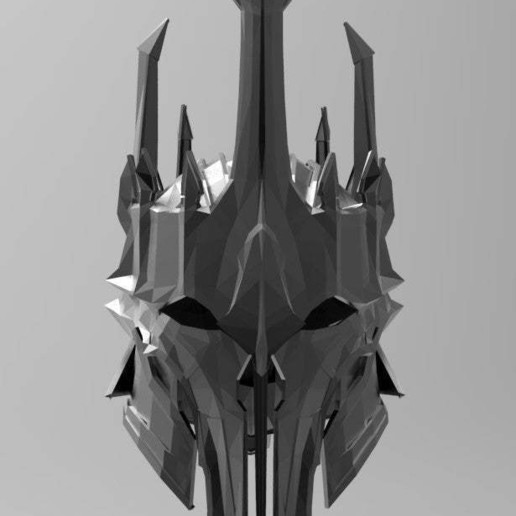 Download free STL files Sauron Armor - Helmet, arifsethi